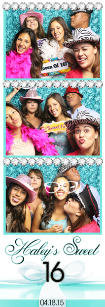 Photo Booth Rental Sweet 16