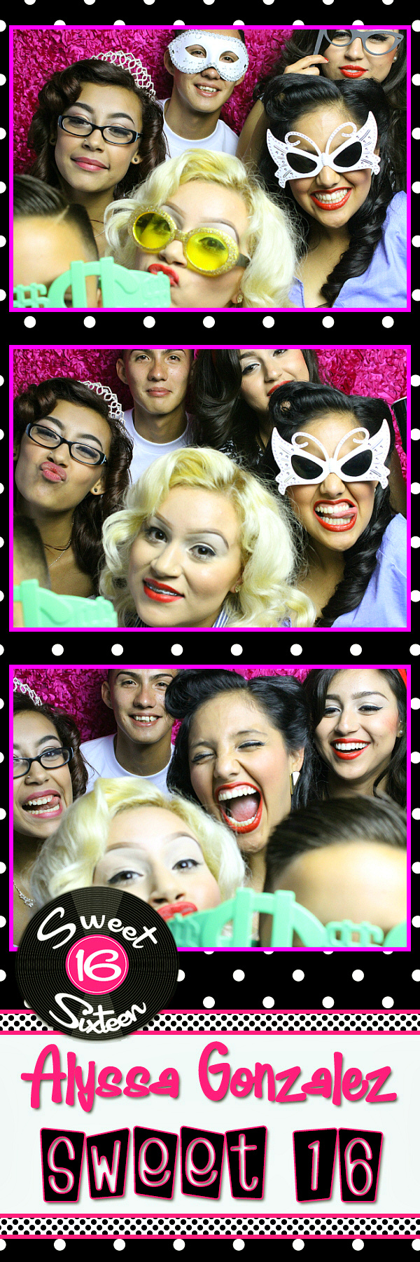 Sweet 16 Photo Strip