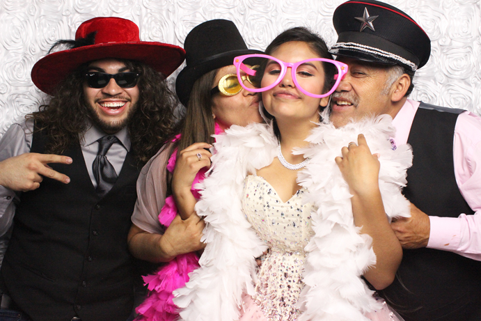 Quinceanera Photo Booth
