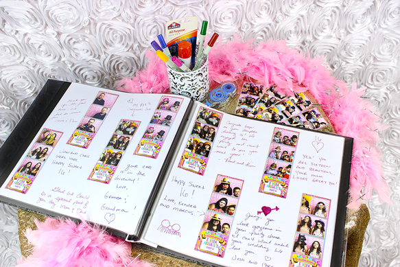 Photo Booth Scrapbook Kit